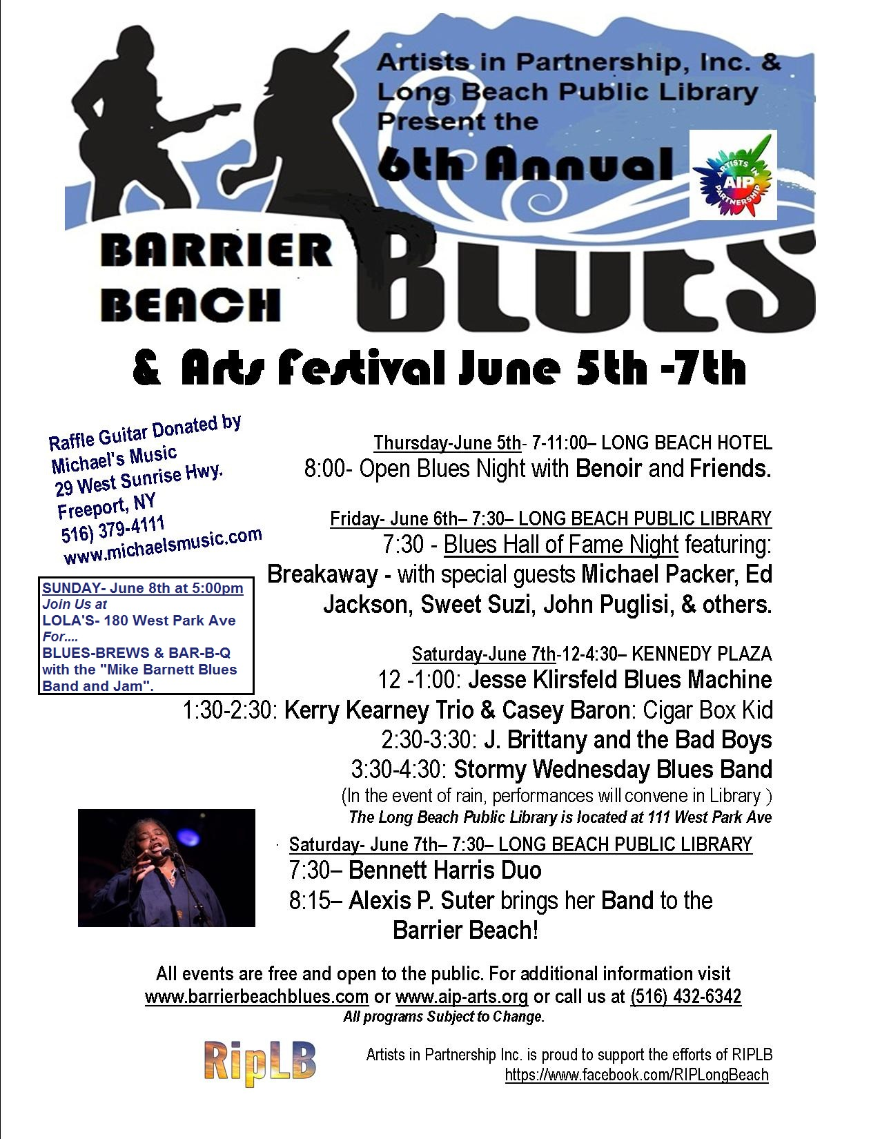 Barrier Beach Blues poster