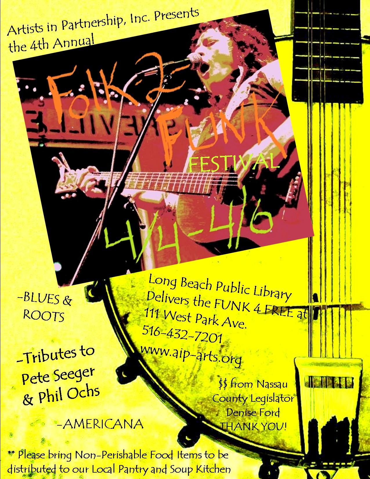 Folk 2 Funk Poster